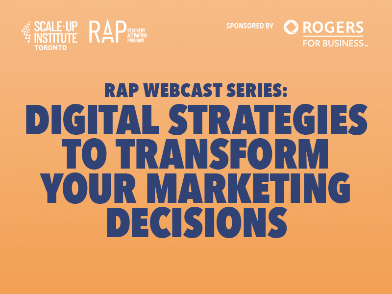 Digital Strategies to Transform your Marketing Decisions Image