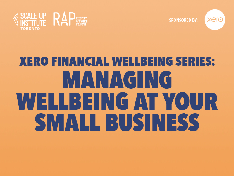 Managing Wellbeing at Your Small Business Image